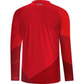 GORE WEAR C5 Trail Long Sleeve Jersey Men red